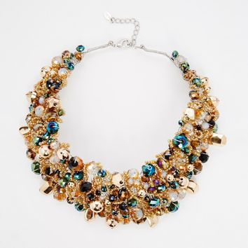 ALDO Harmonie Beaded Collar Necklace