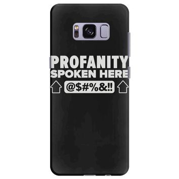 profanity spoken here Samsung Galaxy S8 Plus