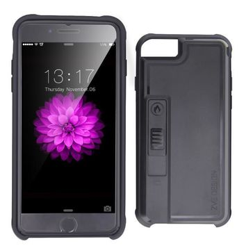Creative personality iphone6s lighter iphone case 7 plus open bottle opener smoke proof protective One-nice™
