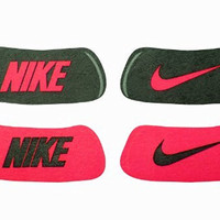 Nike Eyeblack Home and Away Stickers (Black/Red Red/Black)