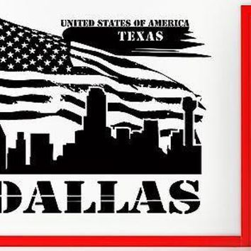 Wall Sticker Vinyl Decal Texas Dallas Lone Star State US Flag USa Decor Unique Gift (z2406)