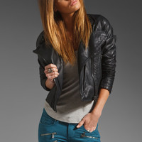 BLANKNYC Vegan Leather Moto Jacket in Black from REVOLVEclothing.com