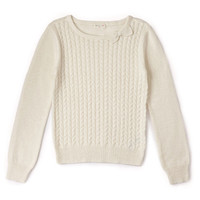 Braided Bow Sweater (Kids)