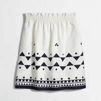 FACTORY PRINTED LINEN-COTTON MINI