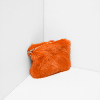 FAUX FUR MINI BAG DETAILS