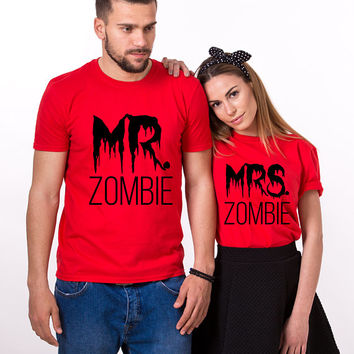 Halloween shirt women, Mr Mrs Halloween Shirt for women, Halloween Couple Shirts, Halloween women shirt, Halloween Shirts, UNISEX