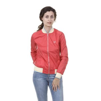 Coral S Fred Perry Womens Jacket 31732079 0031