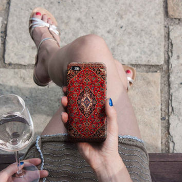 Persian Carpet iPhone 6/6S, 6 Plus Case 4S, 5S, Samsung Galaxy Cover Mobile Phone HTC LG Sony. Gift Idea. Anniversary. Gift for him and her