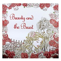 Beauty and the Beast Coloring Book for Adult Kids Antistress Art Books Mandala Secret Garden Quiet Color Drawing 25*25cm 24Pages