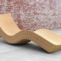 Cork lounge chair CORTIÇA by Daniel Michalik Furniture Design | design Daniel Michalik