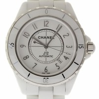 Chanel J12 swiss-automatic mens Watch H2981 (Certified Pre-owned)