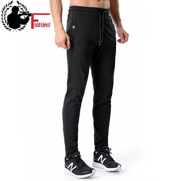 Sweatpants Men Cotton Joggers Skinny Slim Fit Velvet Zipper Pocket Sweat Pants Fleece Male Fashion Winter Warm Trousers 3xl 4xl