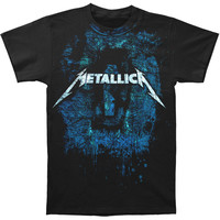 Metallica Men's  Moonlight Dirt Nap With Drips T-shirt Black Rockabilia