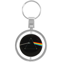 Pink Floyd Dark Side Of The Moon Spinner Key Chain Multi