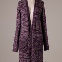 Stella Sweater Cardigan (Purple) from The Wild Orchid