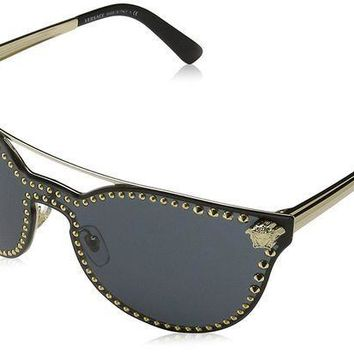 ICIK4S2 Versace Women's Rock Brow Bar Sunglasses
