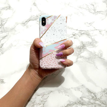 J'adore iPhone X Case iPhone 8 Case iPhone 7 Case iPhone 6s Case iPhone 6 Plus Case Protective Marble iPhone Case Silicone Case Phone Cover