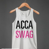 ACCA-Swag-Unisex White Tank