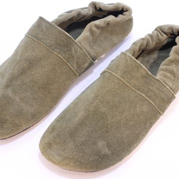Handmade Suede Moccasin shoes from India