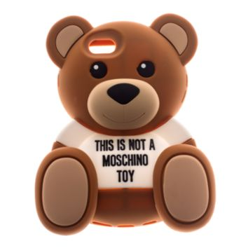 MOSCHINO Sweet Bear 5 Not A Toy Brown IPhone case 5/5S - New Arrivals