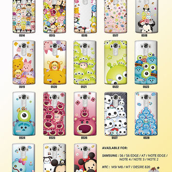 Disney TsumTsum  Licensed Original   For LG G4 / LG G3 ,Phone Case,Pattern phone case,crystal hard case