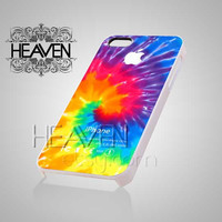 Tie Dye design - iPhone 4/4s/5 Case - Samsung Galaxy S2/S3/S4 Case - Black or White