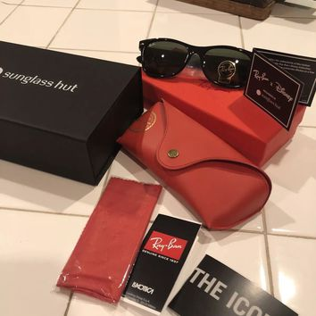 NEW 2018 Disney Parks Mickey Mouse Ray Ban Wayfarer Sunglasses Limited Edition