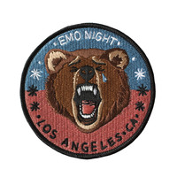 Emo Night iron-on patch