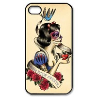ImCase Zombie Snow White hard case cover skin for iphone 4 4s, Snow White eat apple hard case cover skin for ipohone 4 4s