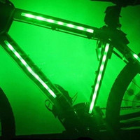 LED Bicycle Bike Cycling Frame Bright 3 Flash Modes Warning Light Safelight = 1705914628