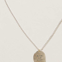Optimist Necklace