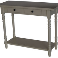 Michael Anthony Furniture Simplicity Entry Table (Buttermilk)