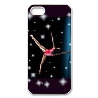 Fashion Gymnastics Personalized iPhone 5 Hard Case Cover -CCINO