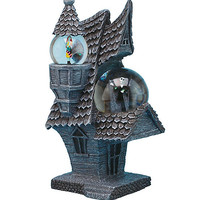 The Nightmare Before Christmas Jack & Sally House Water Globe