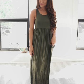 Up To Something Maxi Dress