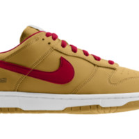 Nike Dunk Low NFL San Francisco 49ers iD Custom
