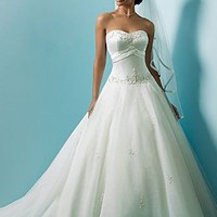 Cheap Alfred Angelo Wedding Dresses - Style 1123 - Only USD $328.80