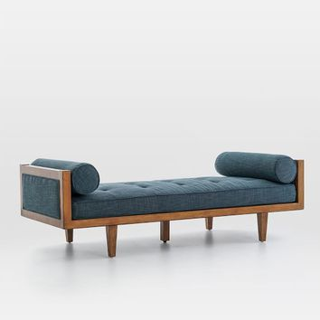 Wood Frame Tufted Daybed