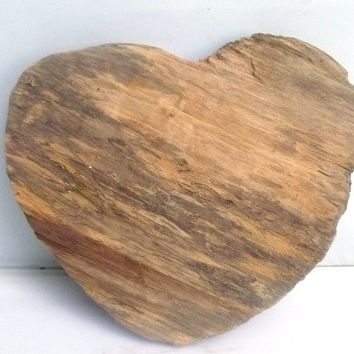 Salvaged Wood Heart, Driftwood Heart,  Wedding Decor,  Gift Idea, Found Art, Rustic Wood Decort