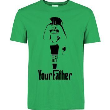 Star Wars Force Episode 1 2 3 4 5 2018 hot sale Fashion  T Shirts Your father Printed Cotton streetwear Man t-shirts Tee tops  brand clothing funny AT_72_6
