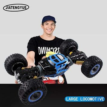 2.4 ghz RC Cars Monster Truck 1:16 Bigfoot Double-sided Driving RC