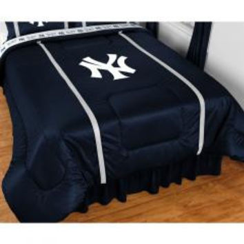New York Yankees Bedding NY Baseball Comforter Sheets Queen