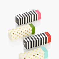 Kate Spade Patterned Erasers Multi ONE