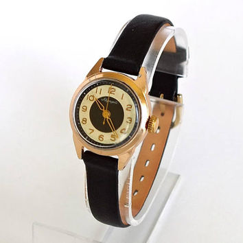 Rare Womens Watch Aurora 15 Jewels. Mid Century Mechanical  Watch For Women. Russian Vintage Watch Womans. Antique Ladies Watch 60s Gift her