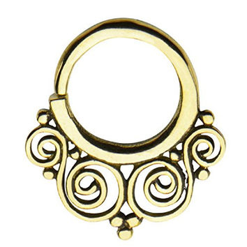 """14g 3/8"""" Nose septum unique body Jewelry for UNIQUE buyers--FREE Gift Box w 2"""