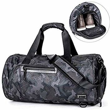LEICESTERCN LST Sling Bag Waterproof Crossbody Chest Backpack Outdoor Cycling Chest Shoulder Unbalance Gym Fashion Bags Sack Satchel for Men & Women