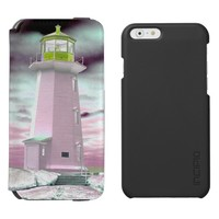 Wallet Case Peggy's cove Lighthouse Vegan Leather