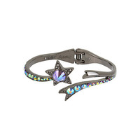 BETSEYS DARK MAGIC STAR BANGLE: Betsey Johnson