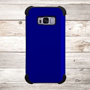 Solid Color Navy Blue for Apple iPhone, Samsung Galaxy, and Google Pixel