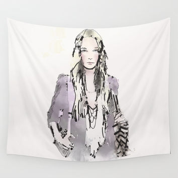 Flair Wall Tapestry by Allison Reich